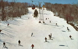 Green Mountain National Forest and Ski Gondolas, Mt. Snow