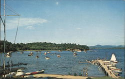Lake Champlain - Malletts Bay Postcard