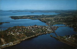 Aerial View of Newport, Vermont