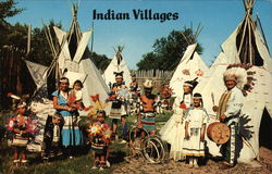 Indian Villages Postcard