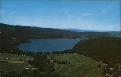 Bird's Eye View of Lake Morey, Vermont