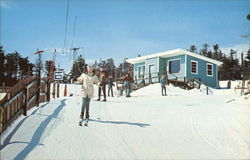 Okemo Mountain - Wigwam Snack Bar Postcard