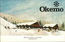 Okemo Mountain - Base Lodge Postcard