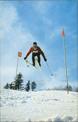 "Okemo Mountain, ""Vermont's Family Ski Mountain"" Postcard"