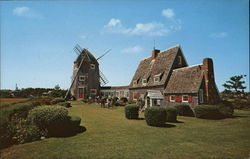 Cape Cod House and Windmill