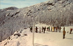 Ski School at Top of Mount Mansfield