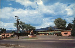 Sun-Set Motel & Restaurant Postcard