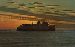 Seeing Is Believing - Sunset Over the Ocean - SS Naushon