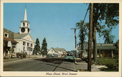 Main Street Showing West Dennis Community Church