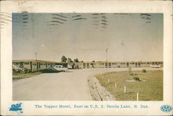 The Topper Motel, East on U. S. 2
