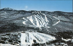 Aerial View of Haystack Mountain Ski Area