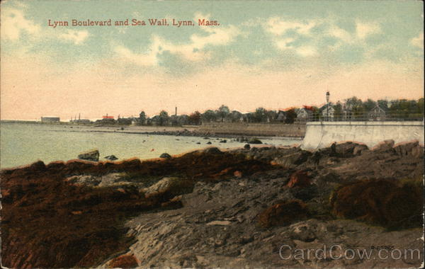 Lynn Boulevard and Sea Wall Massachusetts