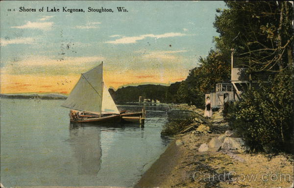 Shores of Lake Kegonsa Stoughton Wisconsin