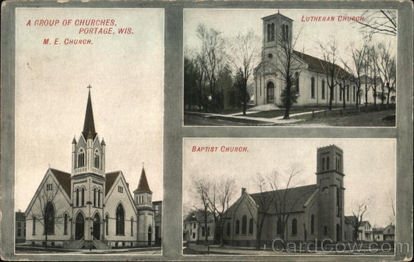 A Group of Churches Portage Wisconsin
