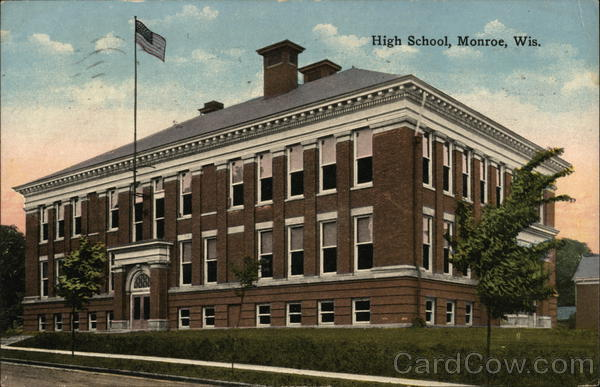 High School Monroe Wisconsin