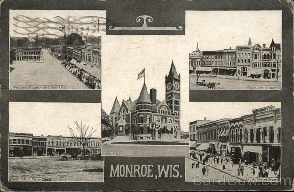 Views of the Town Monroe Wisconsin