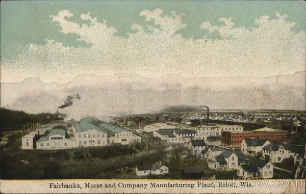 Fairbanks, Morse and Company Manufacturing Plant Beloit Wisconsin