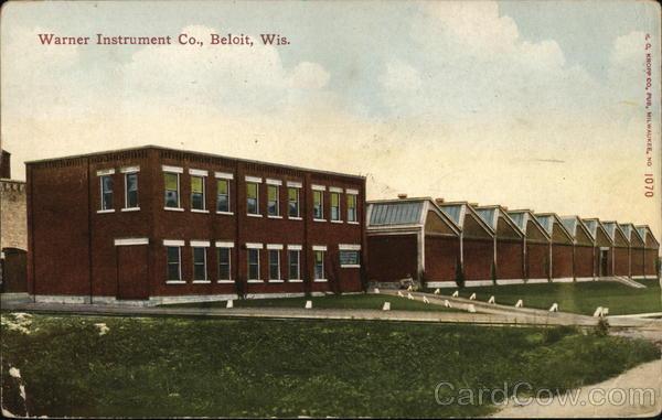Warner Instrument Co Beloit Wisconsin