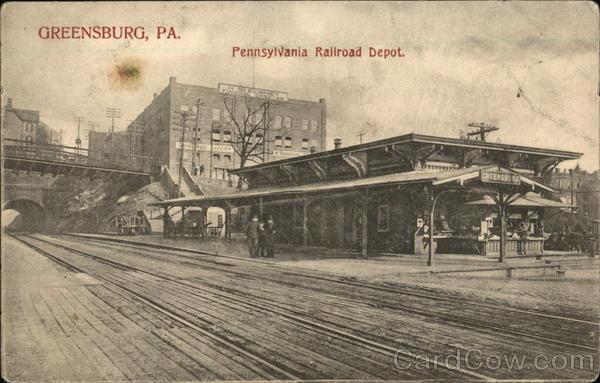 Pennsylvania Railroad Depot Greensburg