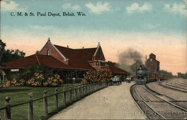 CM & St. Paul Depot Beloit Wisconsin
