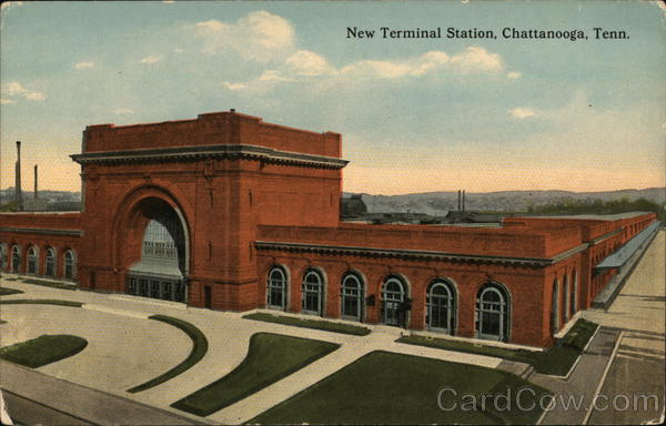New Terminal Station Chattanooga Tennessee Depots