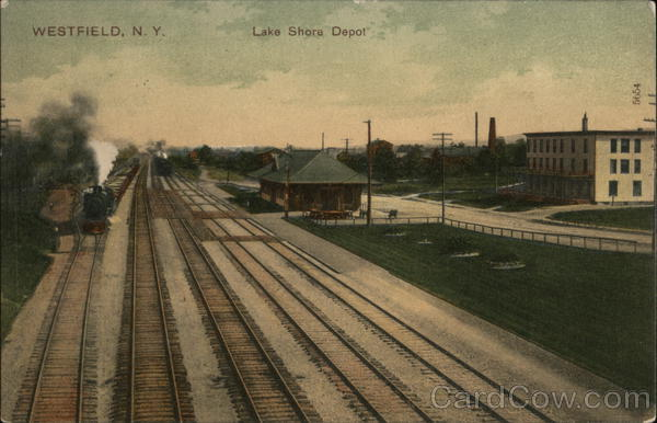 Lake Shore Depot Westfield New York Depots