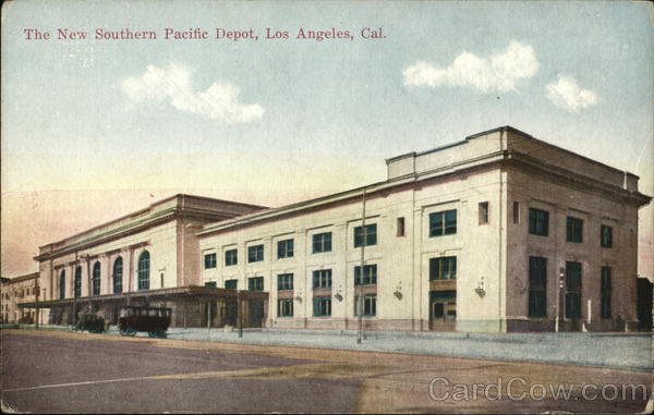 New Southern Pacific Depot Los Angeles California Depots