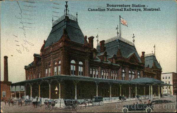 Bonaventure Station-Canadian National Railways Montreal Canada