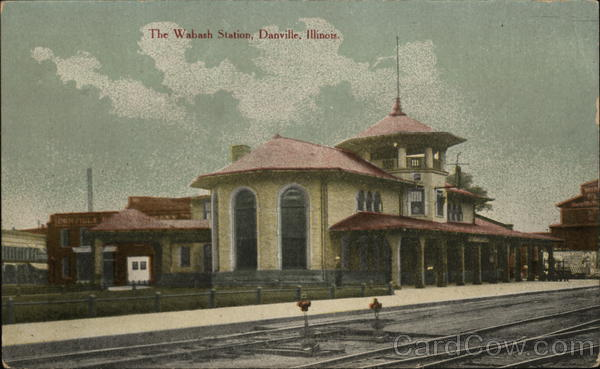 The Wabash Station Danville Illinois Depots