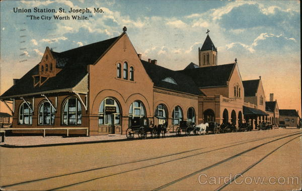 Union Station St. Joseph Missouri Depots
