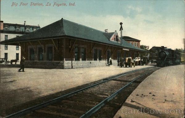Big Four Station LaFayette Indiana Depots