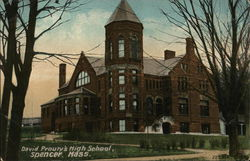 David Prouty's High School Postcard