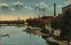 Merrimac River, Showing Mills