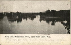 Scene on Wisconsin River