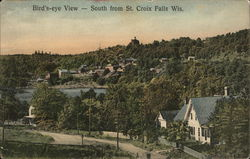 Bird's Eye View - South From St. Croix Falls