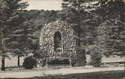 Grotto of Our Lady of Lourdes, Salvatorian Seminary