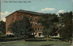 Ingram Hall, Ripon College Postcard
