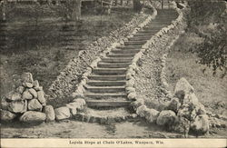 Loyala Steps at Chain O'Lakes
