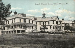 Hospital, Wisconsin Veterans' Home Postcard