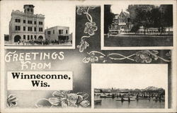 Greetings Postcard