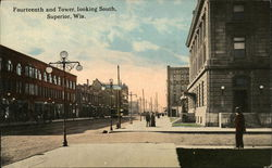 Fourteenth and Tower, Looking South