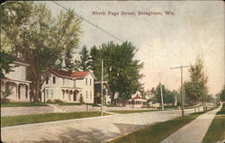 North Page Street Postcard
