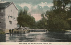 Old McCoy Mill and River Scene
