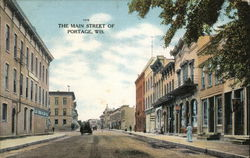 The Main Street of Portage