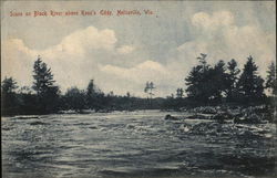 Scene on Black River Above Ross's Eddy