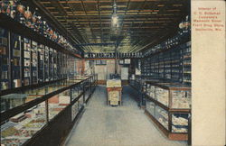 C. C. Sniteman Company's Mammoth Silver Front Drug Store - Interior