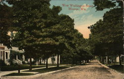 West Washington Street Postcard