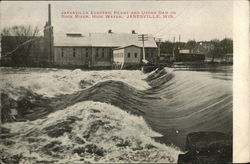 Janesville Electric Plant and Upper Dam on Rock River