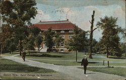 Beloit College - The Gymnasium Postcard