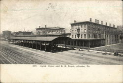 Logan House and RR Depot